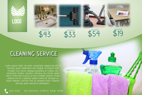 Cleaning Service Poster Templates | PosterMyWall