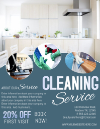 Cleaning service flyer templates postermywall accmission Gallery