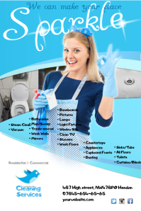 Cleaning Service Leaflet