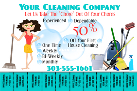 picture about Free Printable House Cleaning Flyers titled Crank out Absolutely free Property Cleansing Flyers PosterMyWall
