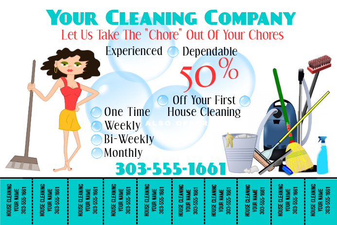 free online carpet cleaning flyer maker