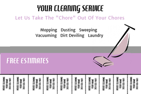 free housekeeping templates