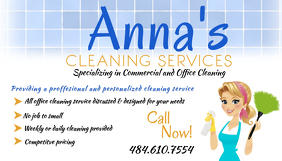 Cleaning service business card templates postermywall cleaning service template wajeb