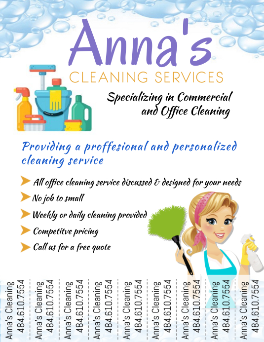 cleaning services advertising templates - cleaning service template postermywall