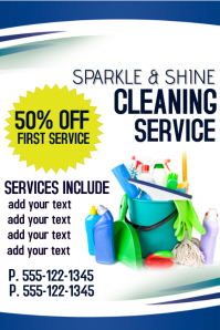 Cleaning service flyer templates postermywall cleaning service accmission Gallery