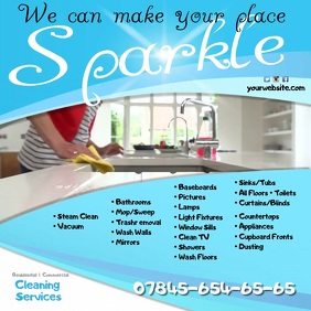 Cleaning Service Video Template