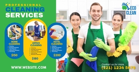 Cleaning Services, Cleaning, Home Cleaning Facebook Shared Image template