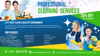 Cleaning Services, Cleaning, Home Cleaning Zdjęcie tytułowe kanału na YouTube template