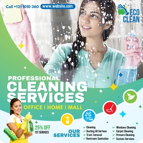 Cleaning Services Ad