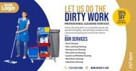Cleaning Services Ad Isithombe Esabiwe ku-Facebook template