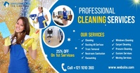 Cleaning Services Ads Gambar Bersama Facebook template