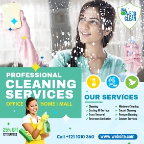 Cleaning Services Advert