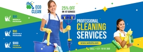 Cleaning Services Facebook Cover Photo template