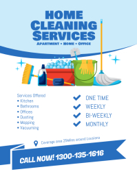 Cleaning Services Flyer Template