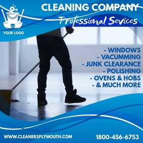 Cleaning Services Instagram Template