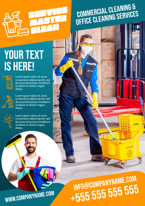 CLEANING SERVICES POSTER