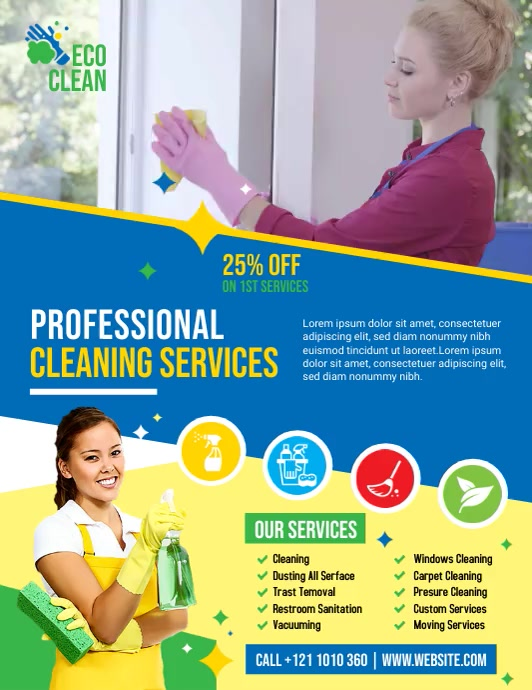 Cleaning Services Video Ad