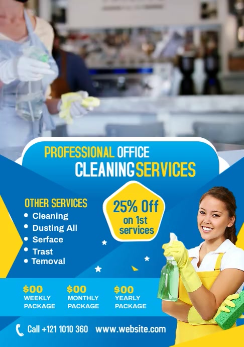 Cleaning Services Video Template A4