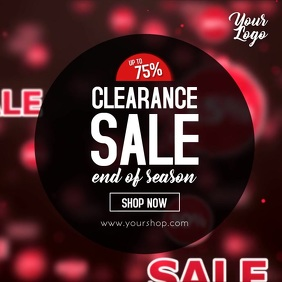 Clearance Sale Video Season Sell Out Shopping