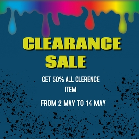 CLEAREANCE SALE