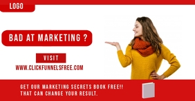 Click Funnel Marketing promotion Ad Facebook Advertensie template