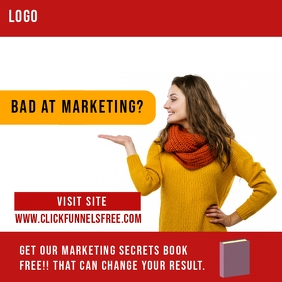 Click Funnel Marketing promotion Ad