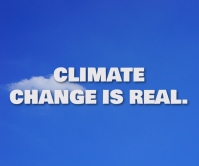 CLIMATE AND REAL QUOTE TEMPLATE Duży prostokąt