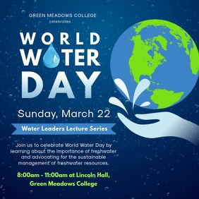 Climate Change Awareness and World Water Day