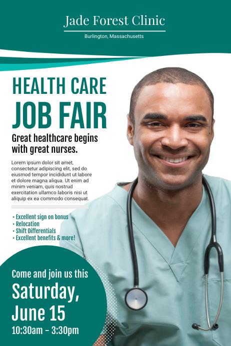 Clinic Hiring Medical Poster