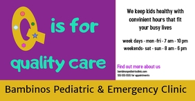 clinic/hospital/pediatric/emergency/kids