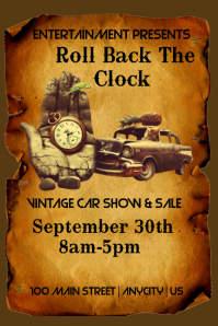 Clock and Car Show