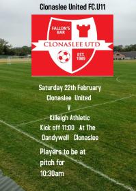 Clonaslee United FC