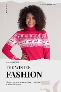 Clothes Fashion Poster template