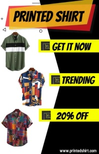 Clothing Tabloid template