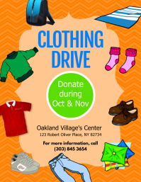 Clothing Drive Flyer