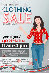 Customizable Design Templates for Clothing Sale | PosterMyWall