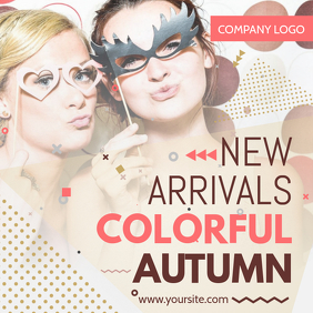 Clothing New Arrival Instagram Template