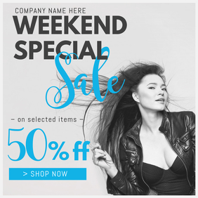 Clothing Sale Instagram Retail Template