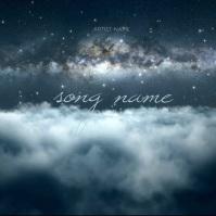 Cloud CD Album Cover Video Template