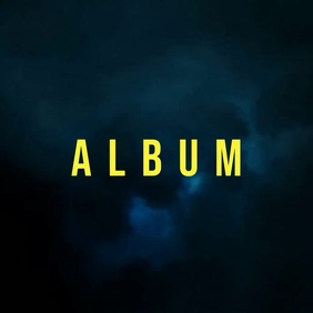 Clouds Storm album cover video template