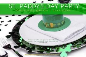 Clover St Patty Irish Green Lucky Saint Patrick Party Dinner