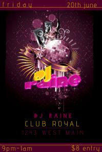 Club Bar DJ Event Flyer
