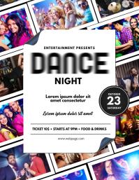 Club Dance Night Flyer Template