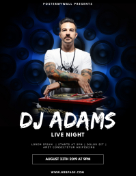 Club Dj Party Flyer Design Template