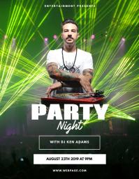 Club Dj Party Flyer Template