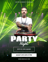 Club Dj Party Flyer Template