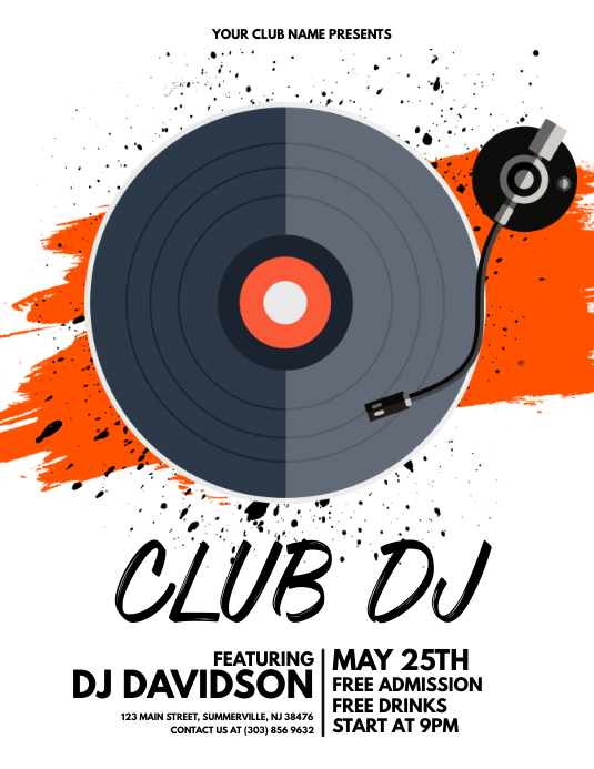 Club DJ Flyer