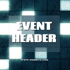 club event ad digital social media template