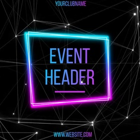 CLUB EVENT AD SOCIAL MEDIA TEMPLATE