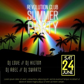 Club Event Party Video Instagram Template